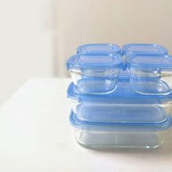 オーブンやレンジでも使えるパイレックスの保存容器